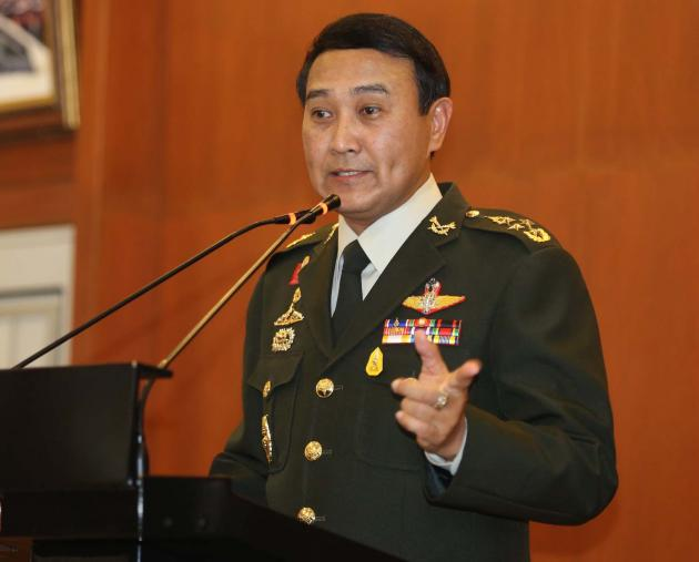 Thailand's Military Chief Shrugs Off Statement from Gen Chavalit's that Installed Government Might Face Counter Coup