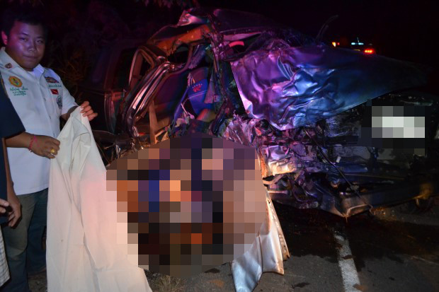 14 Year Old Driver and 15 Year Old Passenger Killed in Chiang Kong Traffic Accident