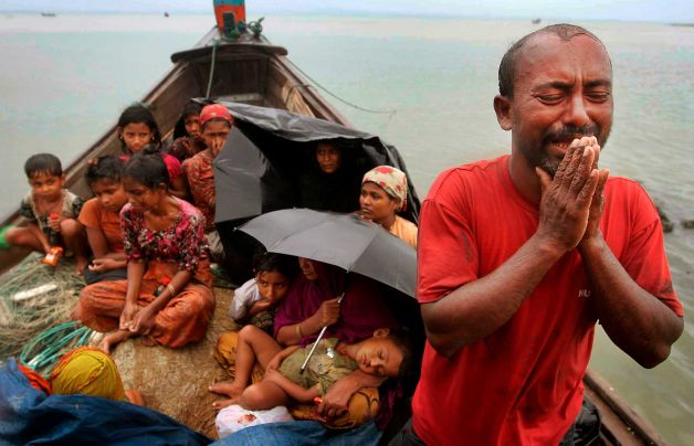 Rohingya Muslims are fleeing Burma in their thousands to escape persecution