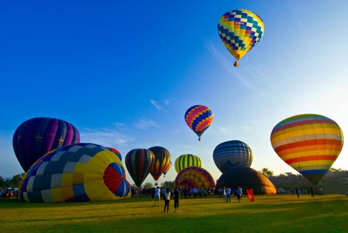 10 Countries Join International Balloon Festival in Chiang Mai