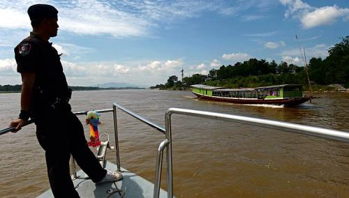 Countries Working Together to Curb Drug Running on Mekong