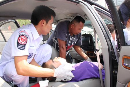 Day One of Thai New Year's Seven Dangerous Day's, 508Accidents, 58 Deaths, 517 Injuries