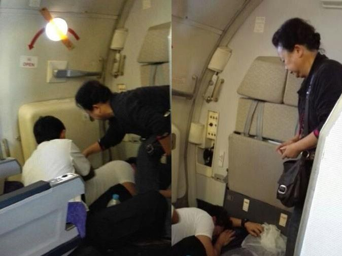 Traditional Chinese Medicine Practitioner Comes to Aide of Thai flight Attendant