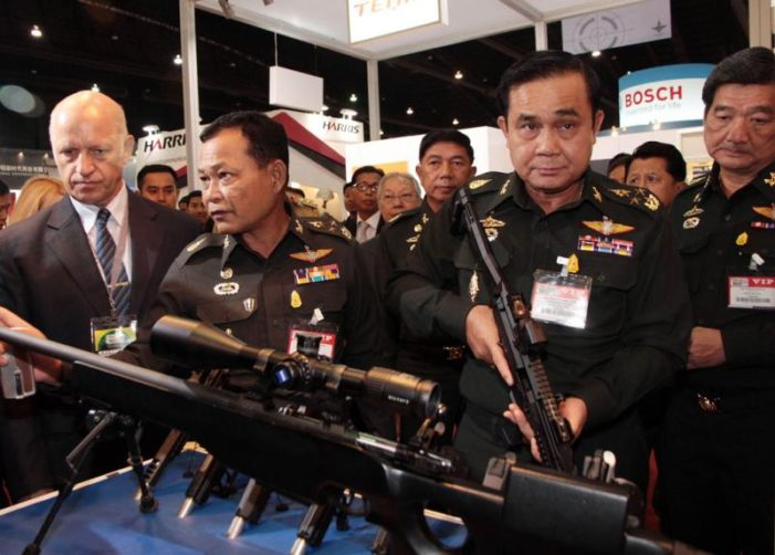 United States Arms Still Flowing into Thailand Despite Military Coup
