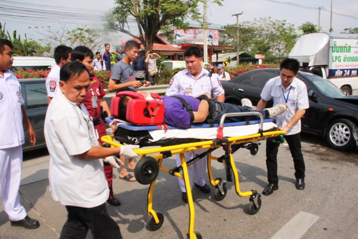 Study Show's Thailand Ranks Second in World Road Fatalities