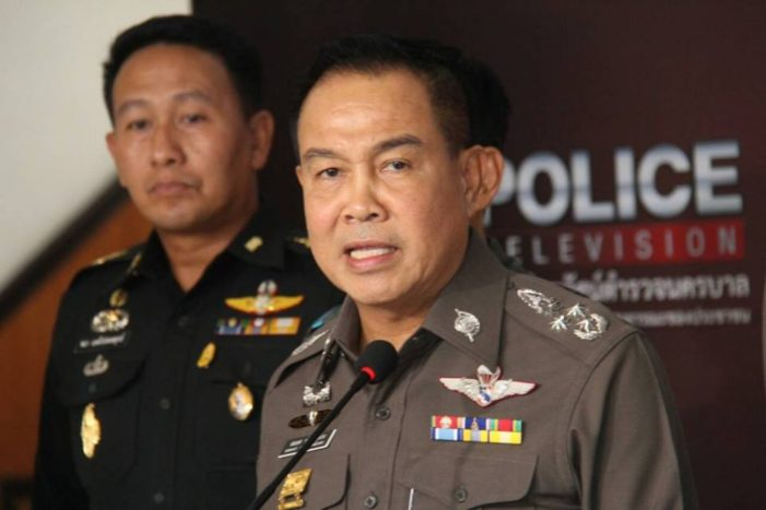 Thailand's National Police Chief Orders Police to Keep Quiet on Foreign Criminal Cases