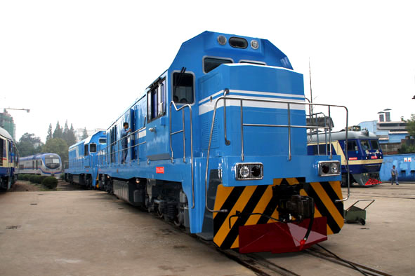 Thailand Takes Delivery of Cargo Locomotives from China