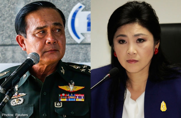Prayuth Threatens Action if Shinawatra Supporters Protest