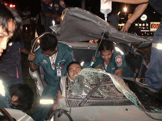 "Day Two of Thai New Years ""Seven Dangerous Days"", 128  Dead, 1158 Injured"