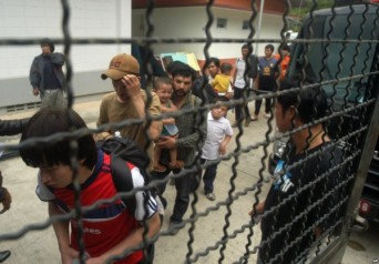 Around 140 Uyghur refugees, who fled East Turkestan and are currently being held in a prison in Thailand