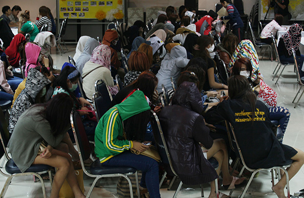 72 Laos Teens Rescued from Forced Prostitution in Supanburi Province