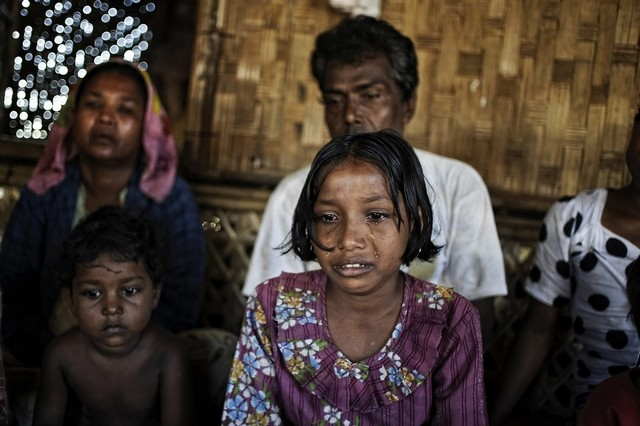 Rohingya Woman Suffocated, Dozens of Children Saved from Smuggers Truck in Southen Thailand