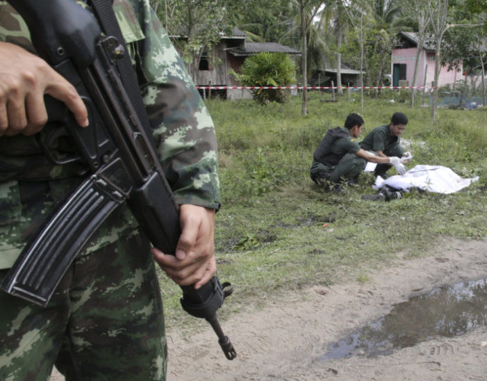 3,961Deaths in Thailand's Insurgency Plagued South
