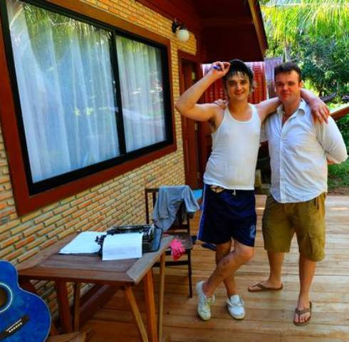 British Rock Star Pete Doherty Gets Clean at  Hope Rehab Centre in Si Racha in Chon Buri, Thailand