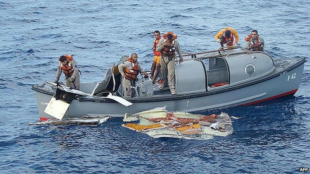 Wreckage found in Java Sea