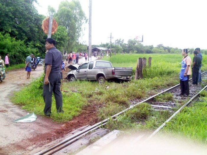 School Teacher Killed in Yet Another Train Accident in Udon Thani