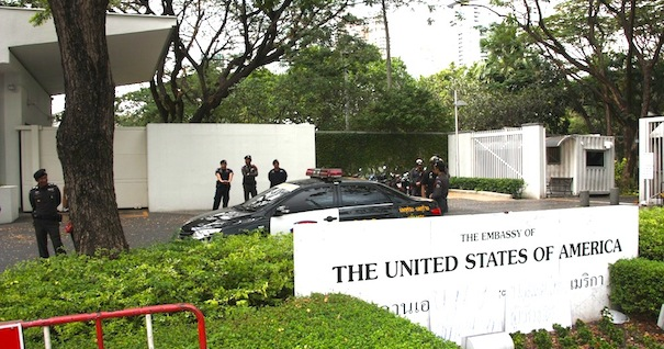 Close Monitoring Ordered for US Embassy Officials Meeting with Red Shirts, United Front for Democracy