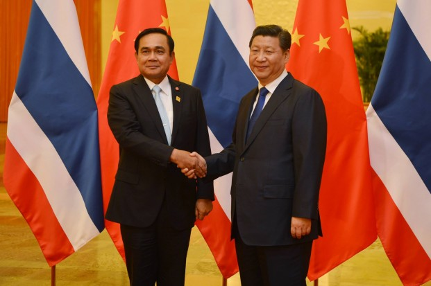 Beijing has seized the opportunity to cozy up to the junta