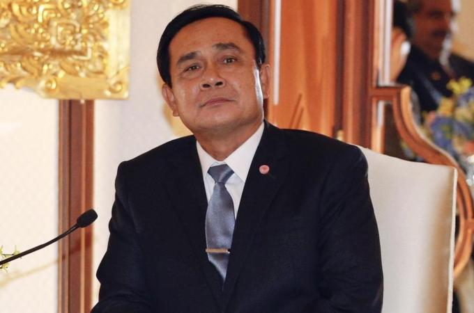 Thailand's PM Gen.Prayuth Say's No Anti-Junta Polls Allowed