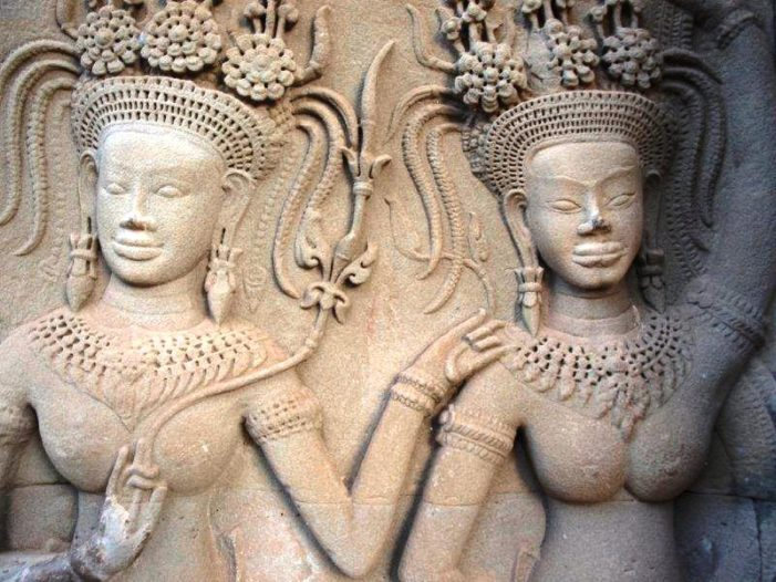 "U.S. Adam's Sisters Arrested for ""Nude Pictures"" at Angkor Wat Cambodia"
