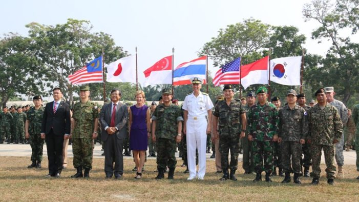 Cobra Gold 2015 Joint Military Exercises End in Lop Buri