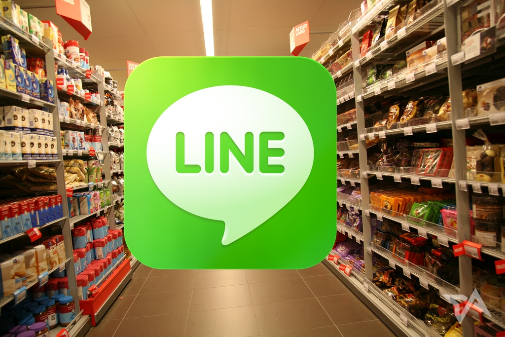 Line Now Delivers Groceries in Thailand