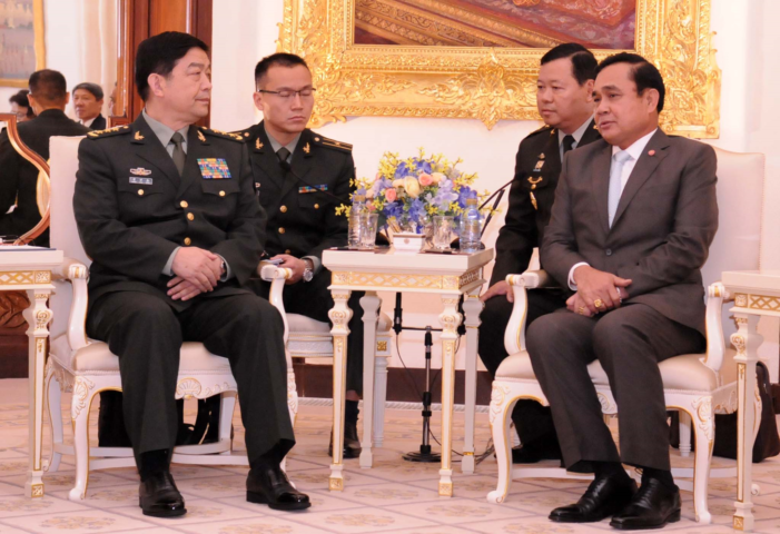 Thailand's Junta Boosts Military Ties with China