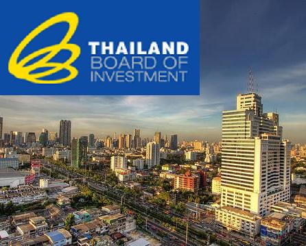 Thailand's Board of Investment Approves $2.36 bln in Investment for 23 Projects