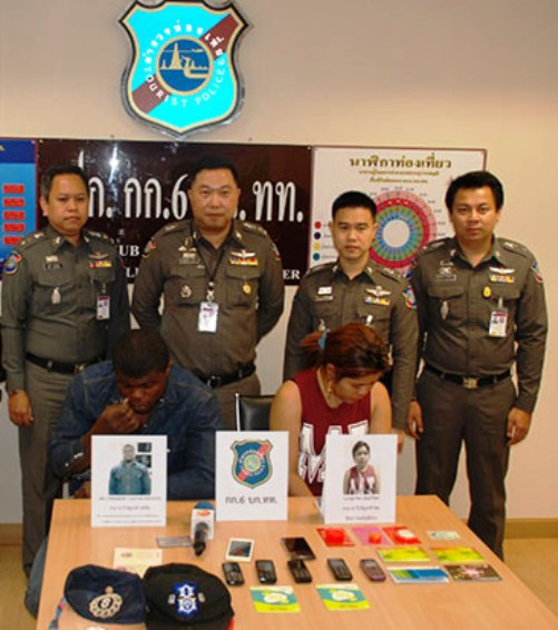 Nigerian and Thai Girlfriend Arrested for 5 Million Baht Facebook Scam