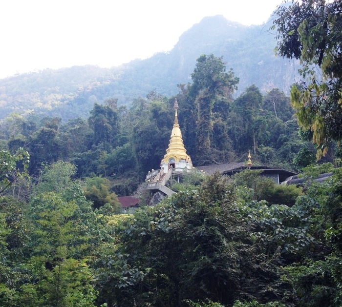 Military Halts Construction of Huge Pagoda on a Chiang Rai Hilltop