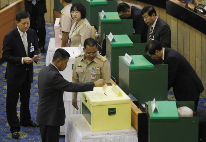 Thailand's National Legislative Assembly Votes to Restricts Political Demonstrations