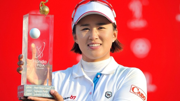 South Korea's Amy Yang Wins the Honda LPGA in Chon Buri Thailand