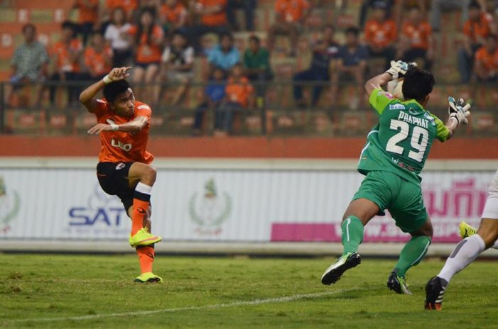 Chaingrai United Wins over Nakhon Ratchasima 4-2