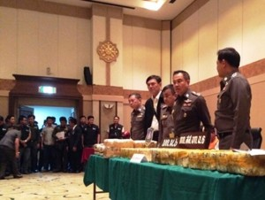 Police General Somyos Phumphanmuang, the commissioner of the Royal Thai Police said the arrest was the result of a tip-off