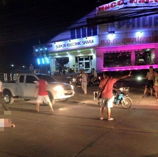 French Woman 68, Struck and Killed by Racing Motorcyclist on Koh Samui