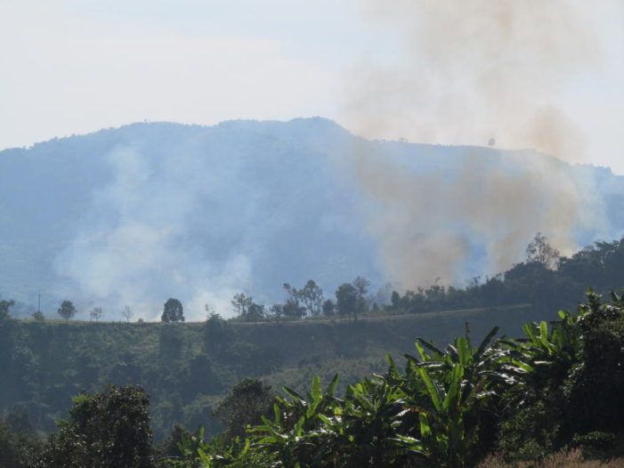Thailand's Interior Minister Orders Governor's to Tell Farmers to Stop Burning Farmland
