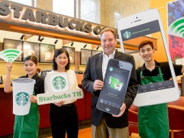 Starbucks Thailand offers mobile application with loyalty program