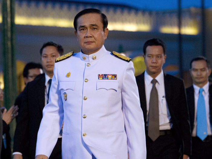 Thai Prime Minister Gen. Prayut Chan-ocha Say's his Military Government will Remain Well into 2017