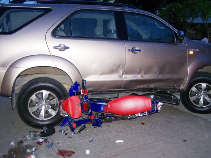 Day 2 of Songkran's Seven Dangerous Days,  723 Accidents, 765 Injuries and 59 Deaths