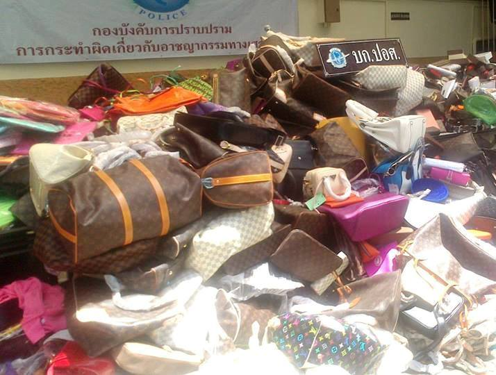 Counterfeit goods seized  more than 21,000 items of contraband