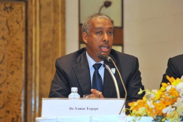 Dr Yonas Tegegn of the World Health Organisation