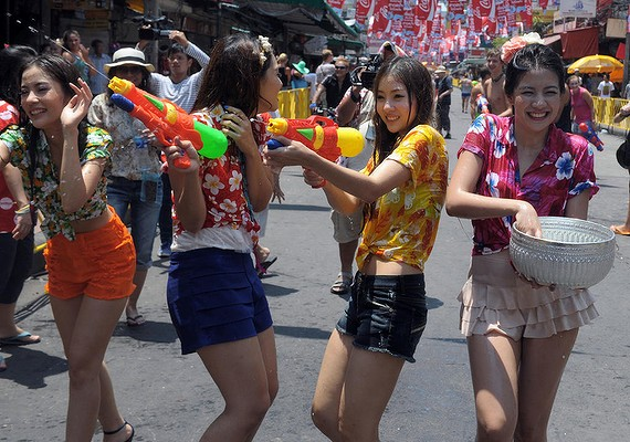 Pollution Control Department Names 11 Rivers Unfit for Songkran Activities