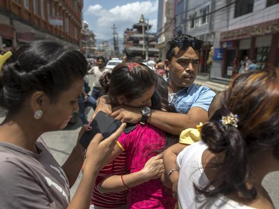 Second 7.4 Earthquake Rattles Nepal, 2 Weeks after First 7.8 Earthquake