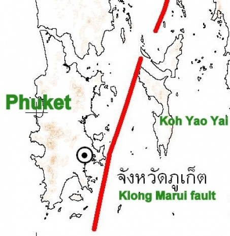 Scientist Say Klong Marui Fault Line Cause of Phuket Quake