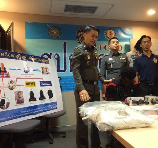 Lesotho National Arrested for Email Fraud in Pattaya