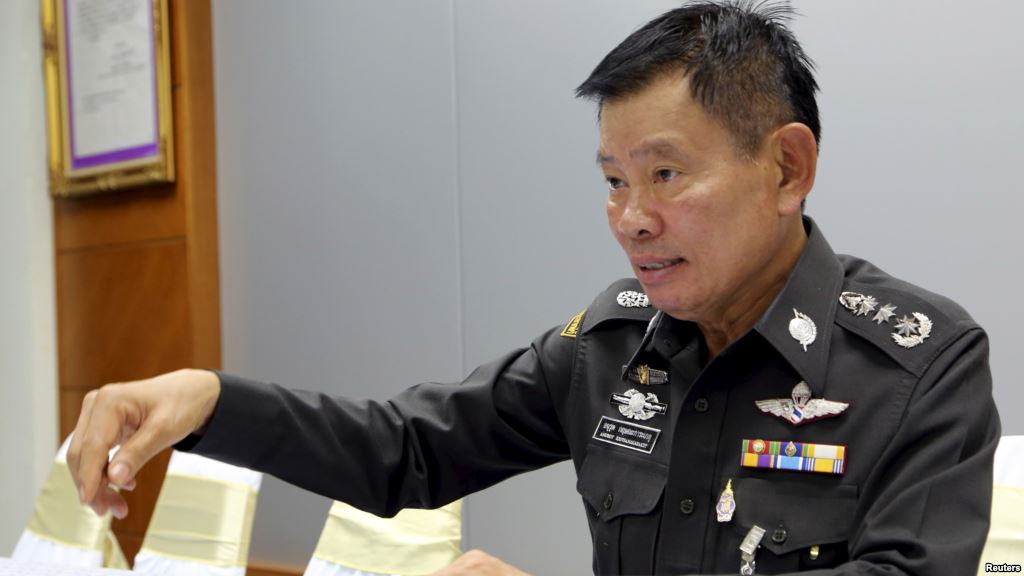 Major General Anurut Kritsanakaraket, commander of the Southern Border Provinces Police Operation Centre, speaks to Reuters in Yala province, Thailand