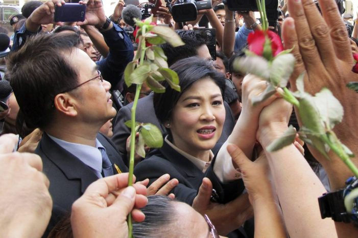 Former Prime Minister Yingluck Shinawatra, Pleads Not Guilty to all Charges
