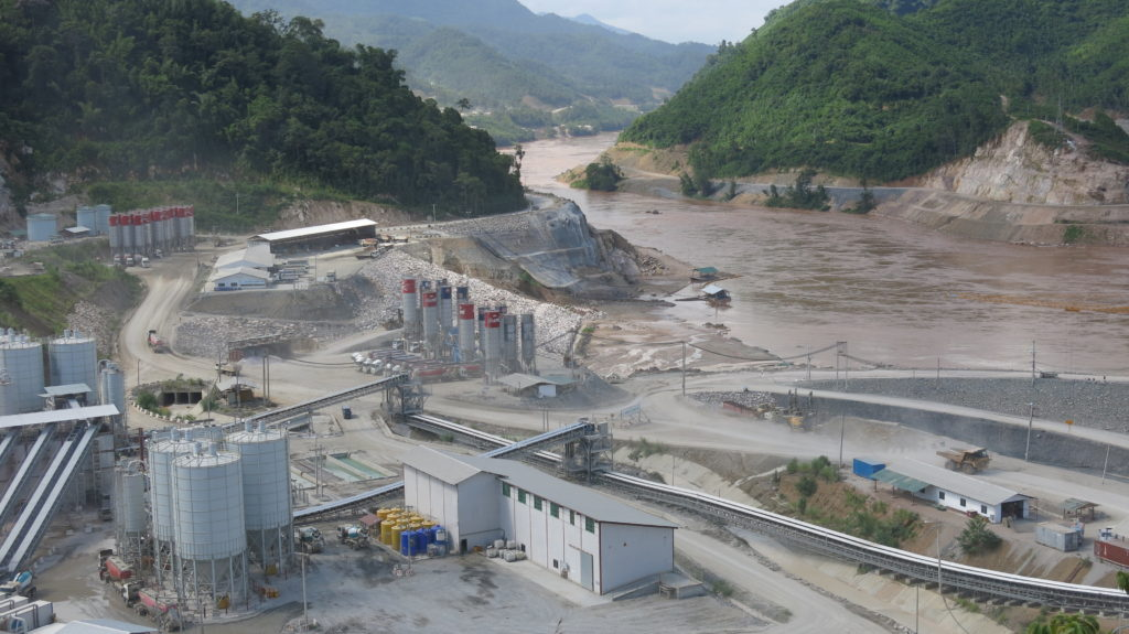 The Don Sahong dam- the 2nd dam on the Lower Mekong,the Lao government plans to launch in early 2015