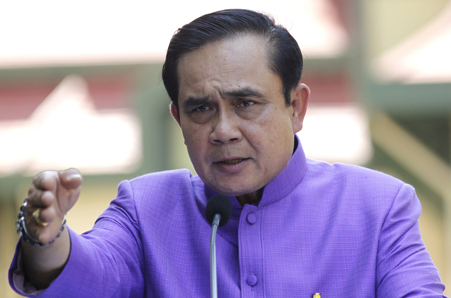Gen. Prayut Chan-o-cha Say's  Article 44 and Martial Law Need to Govern Thailand