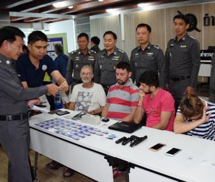 Police found that they withdrew cash from accounts of foreigners. Their alleged accomplices abroad supplied them fake cards and information for writing on the fake cards.